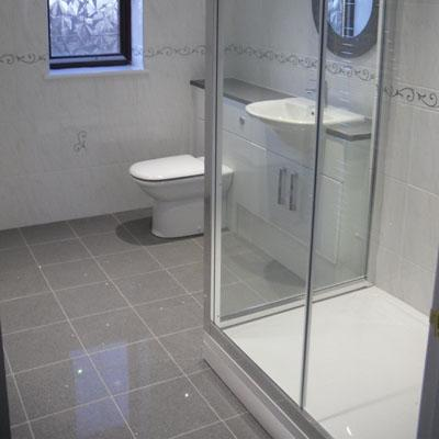grey tile bathroom floor grey quartz stardust mirror fleck wall amp floor tiles 600 18615
